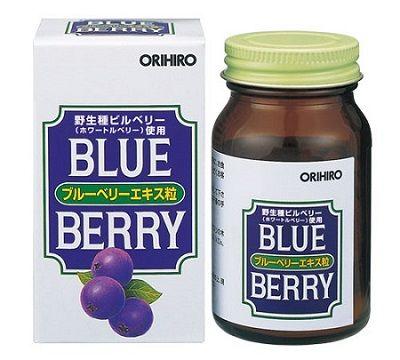 """ORIHIRO """"Blue Berry"""" Экстракт черники со звездной очанкой 50 г"""